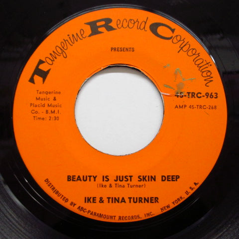 IKE & TINA TURNER - Beauty Is Just Skin Deep (Orig.)