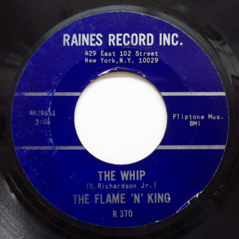 FLAME 'N' KING - The Whip / Tell Me (Orig.)
