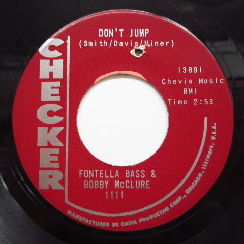 FONTELLA BASS & BOBBY McCLURE - You'll Miss Me (Maroon Label)