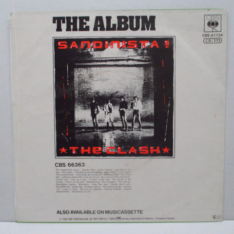 "CLASH, THE - The Magnificent Seven - Special Remix (Dutch Orig.7"")"