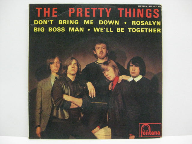 PRETTY THINGS - Don't Bring Me Down (FRENCH EP)