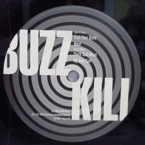 "BUZZKILL-Meat Is Dinner (US Orig.7 "")"