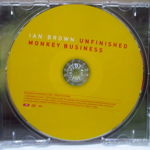 IAN BROWN - Unfinished Monkey Business (Japan Orig.CD)