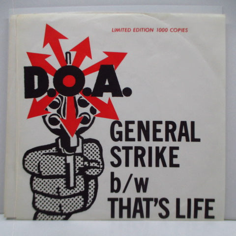"D.O.A. - General Strike (Canada Ltd.7"")"