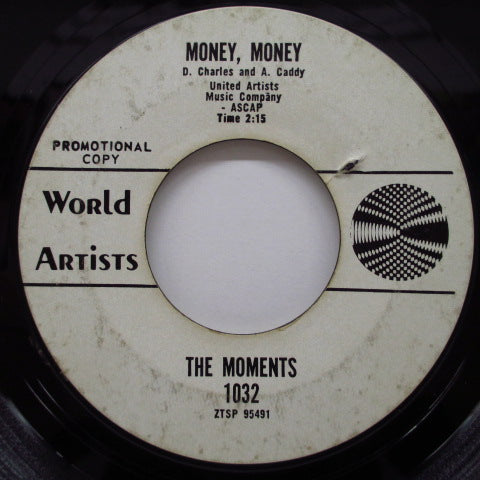 "MOMENTS - Money, Money / You Really Got Me (US Promo 7"")"