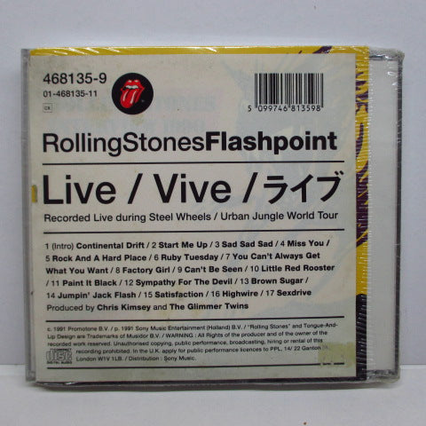 ROLLING STONES - Flashpoint (UK Orig.)