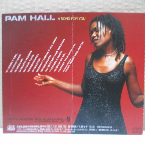 PAM HALL - A Song For You (Japan Orig.CD)