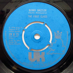 "FIRST CLASS - Bobby Dazzler / Lavender Man (UK Orig.7"")"