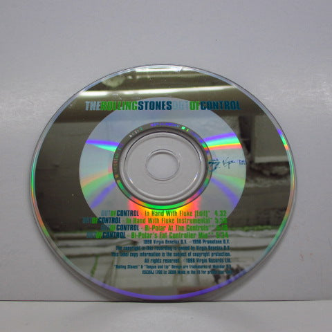 ROLLING STONES - Out Of Control (UK PROMO 4 Version CD)