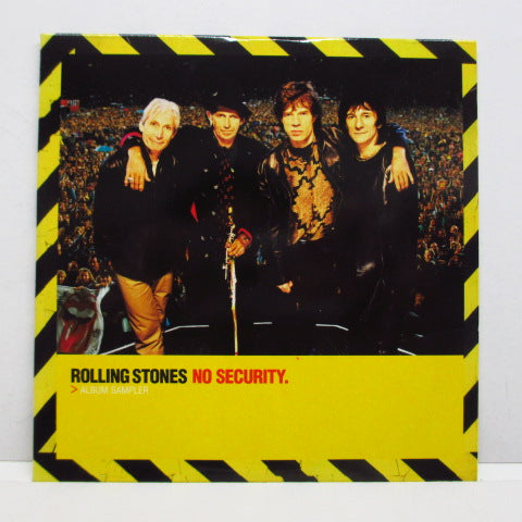 ROLLING STONES - No Security Album Sampler (UK PROMO)