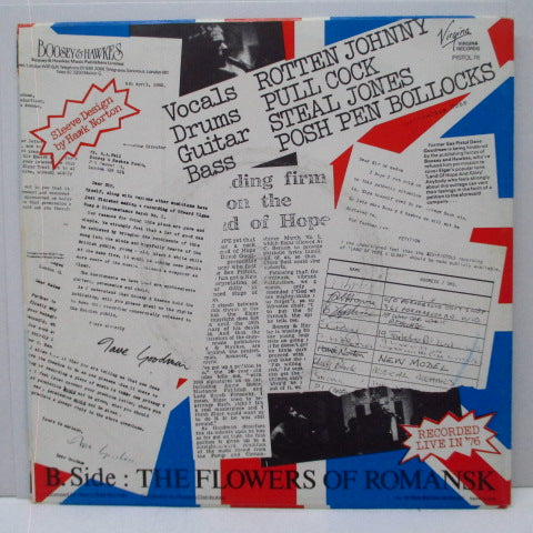 "EX PISTOLS - Land Of Hope & Glory (France Orig.7"")"