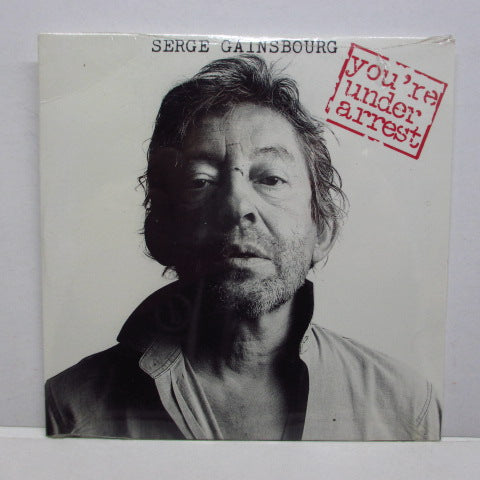 SERGE GAINSBOURG - You're Under Arrest (FRANCE Orig.)