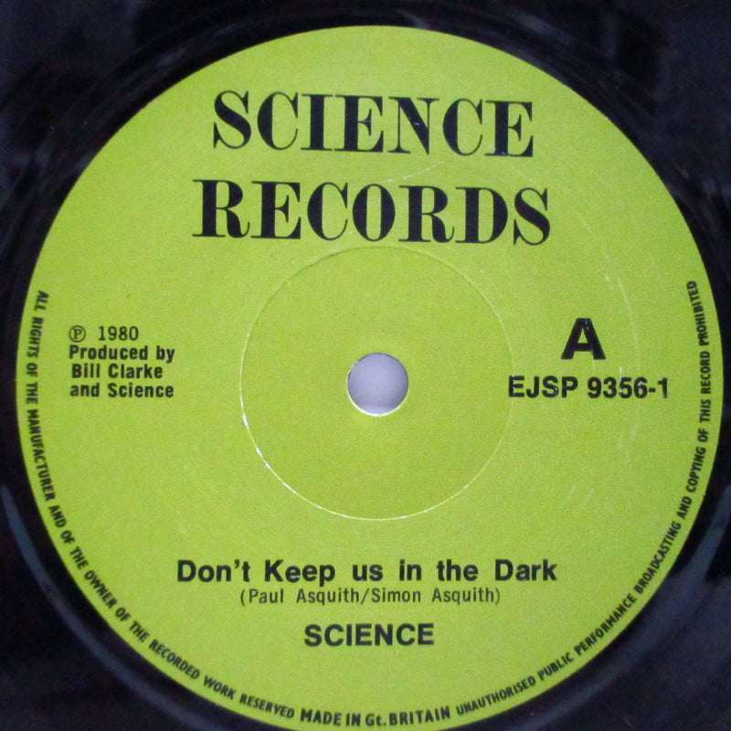 "SCIENCE - What A Day (UK Orig.7"")"