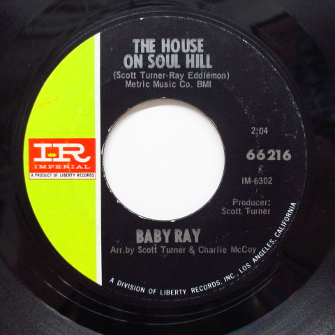BABY RAY - The House On Soul Hill