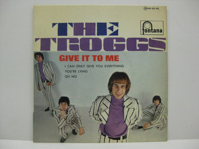 TROGGS - Give It To Me (FRENCH EP)