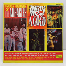 MIRACLES (SMOKEY ROBINSON & THE) - Away We A Go-Go (UK:Orig.STEREO)