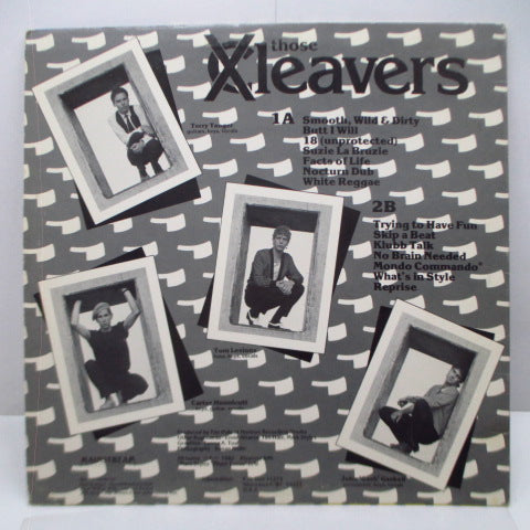 THOSE X-CLEAVERS - S.T. (US Orig.LP)