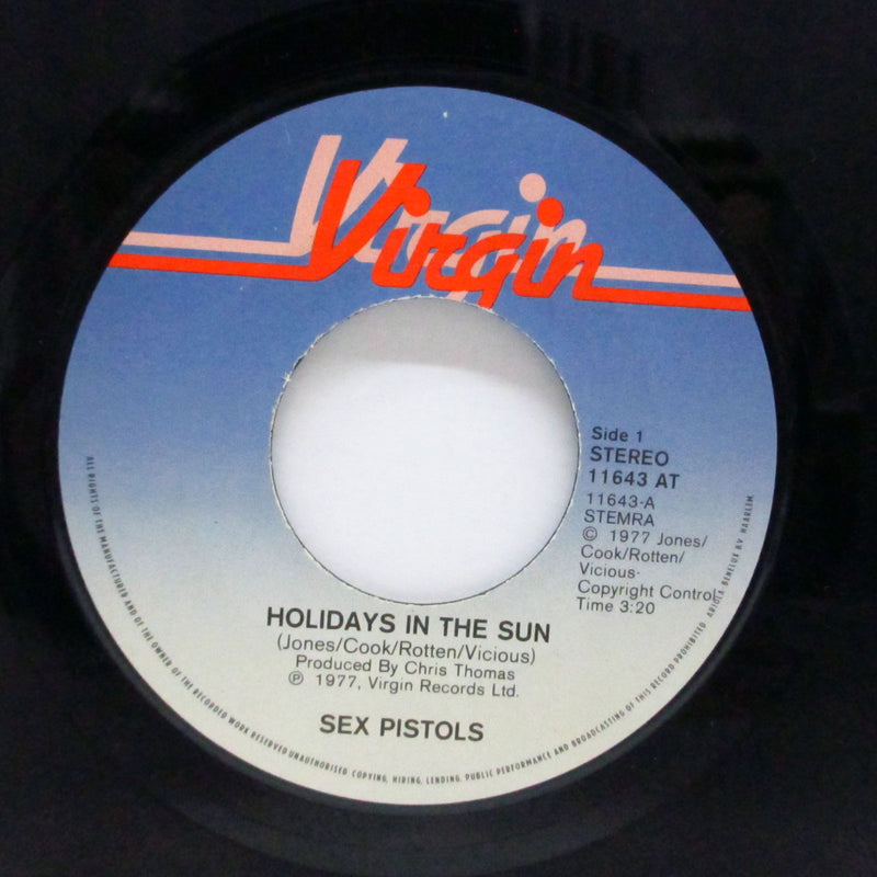 "SEX PISTOLS - Holidays In The Sun (Dutch Orig.7""/11 643 AT )"