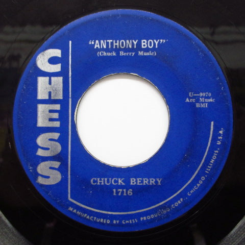 CHUCK BERRY - Anthony Boy (Orig)