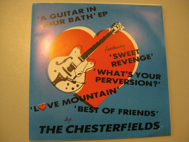 "CHESTERFIELDS, THE - A Guitar In Your Bath EP (UK Orig.7"")"