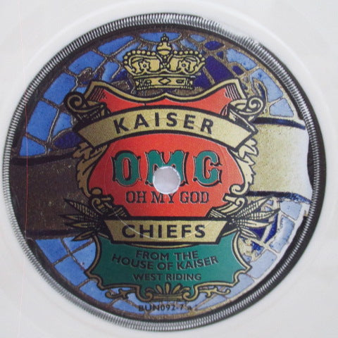 "KAISER CHIEFS - Oh My God (UK Ltd.White Vinyl 7"")"