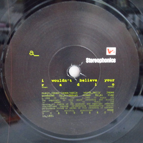 "STEREOPHONICS - I Wouldn't Believe Your Radio (UK Orig.7"")"