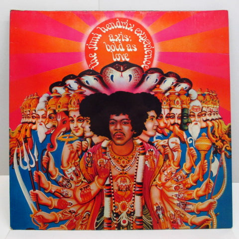 JIMI HENDRIX - Axis : Bold As Love (UK:Orig.MONO+Insert)