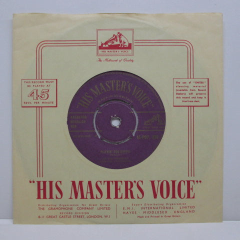 "ELVIS PRESLEY - Too Much (UK HMV Orig.7""+CS)"