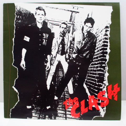 CLASH, THE - S.T. (UK Re Red Label LP/CBS 32232)