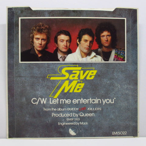 "QUEEN - Save Me (UK Orig.Round Center 7""+PS)"