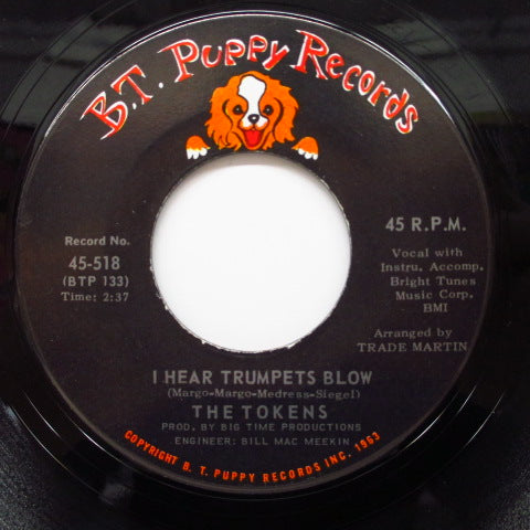 TOKENS - Don't Cry, Sing Along With The Music(Orig)