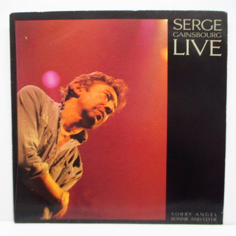 "SERGE GAINSBOURG - Live - Sorry Angel (France Orig.7""+PS)"