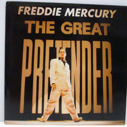 "FREDDIE MERCURY - The Great Pretender (UK Re 7""+PS/R 6336)"