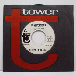 "SIMON DUPREE & THE BIG SOUND - Reservations (US Promo 7""+CS)"