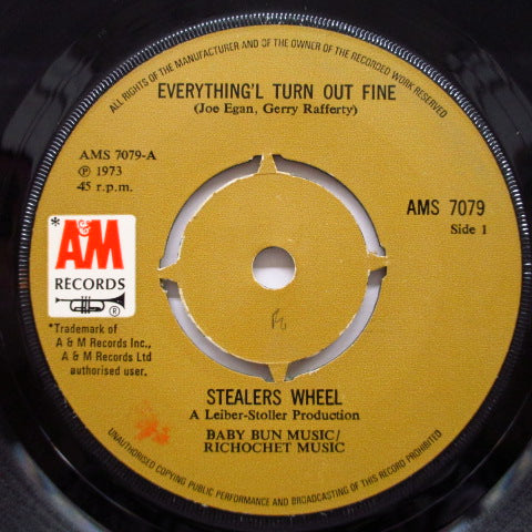 "STEALERS WHEEL - Everything'l Turn Out Fine (UK Orig.7"")"