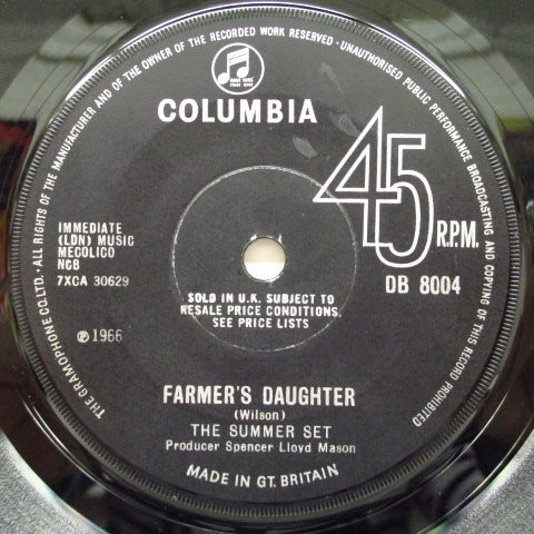"SUMMER SET - Farmer's Daughter (UK Orig.7""+CS)"