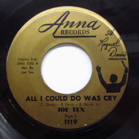 JOE TEX - All I Could Do Was Cry (Part.1&2)