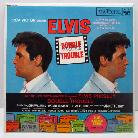ELVIS PRESLEY - Double Trouble (UK Orig.Mono LP/CS)