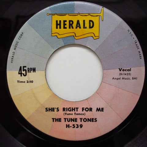 TUNE TONES - She's Right For Me / Lonesome Soul