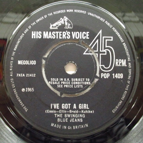 "SWINGING BLUE JEANS - I've Got A Girl (UK Orig.7"")"