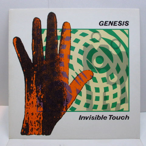 GENESIS - Invisible Touch (UK Orig./Embossed Sleeve)