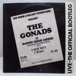 GONADS, THE - Live-The Official Bootleg (UK Orig.2xLP)