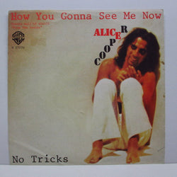 "ALICE COOPER - How You Gonna See Me Now (ITALY Orig.7""+PS)"