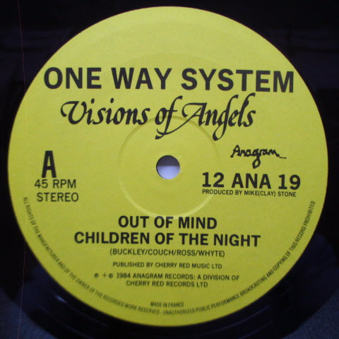 "ONEWAY SYSTEM - Visions Of Angels (UK Orig.12"")"