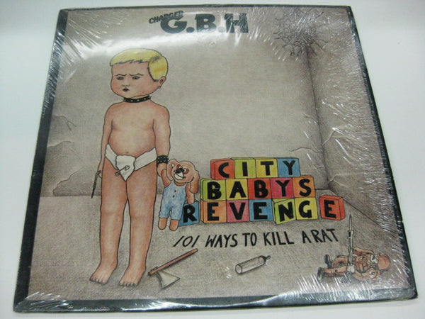 (Charged) G.B.H - City Babys Revenge (US Relativity Reissue/No Barcode)