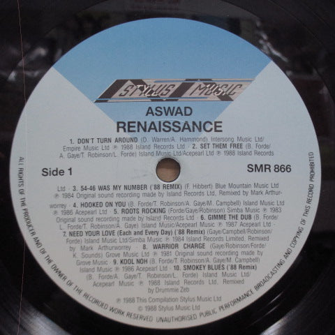 ASWAD-Renaissance 20 Crucial Tracks (UK Orig.LP / GS)