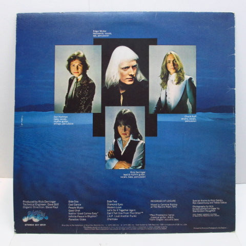 EDGAR WINTER GROUP WITH RICK DERRINGER - The Edgar Winter Group With Rick Derringer (UK Orig.)