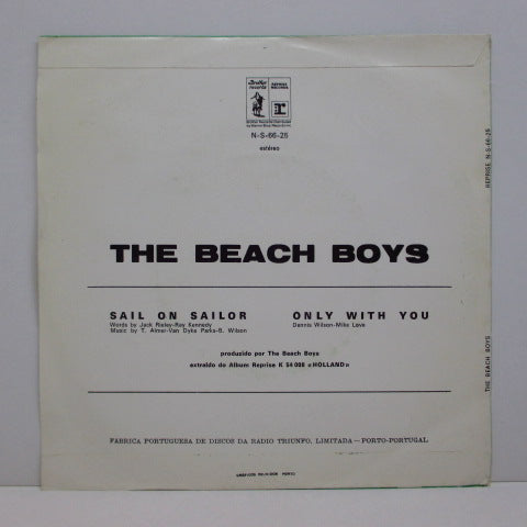 BEACH BOYS - Sail On Sailor (PORTUGAL+PS!)