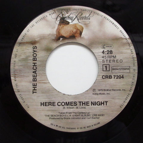 BEACH BOYS - Here Comes The Night (DUTCH+PS!)