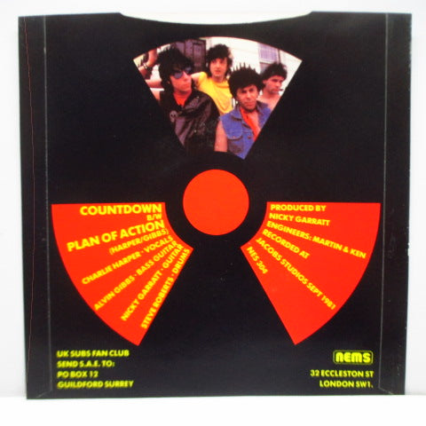 "U.K. SUBS - Countdown (UK Orig.7"")"